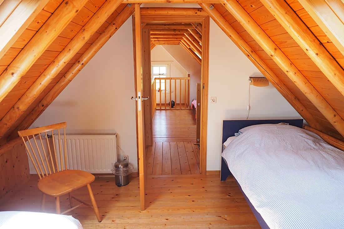 Slaapkamer en Vide